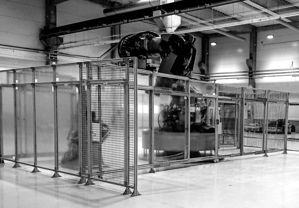 Industrie und Montageservier
